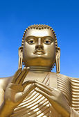 Giant Gold Buddha — Stock Photo