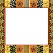 Royalty-Free Stock Vector Image: African style frame 1