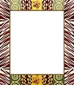 Cadre style africain 2 — Vecteur