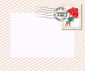 Valentine letter — Stock Vector