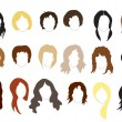 Hairstyles — Stock Vector #11375801