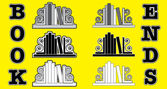 Bookend icons — Stock Vector