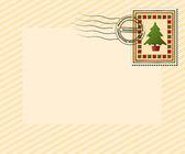 Christmas letter 6 — Stock Vector