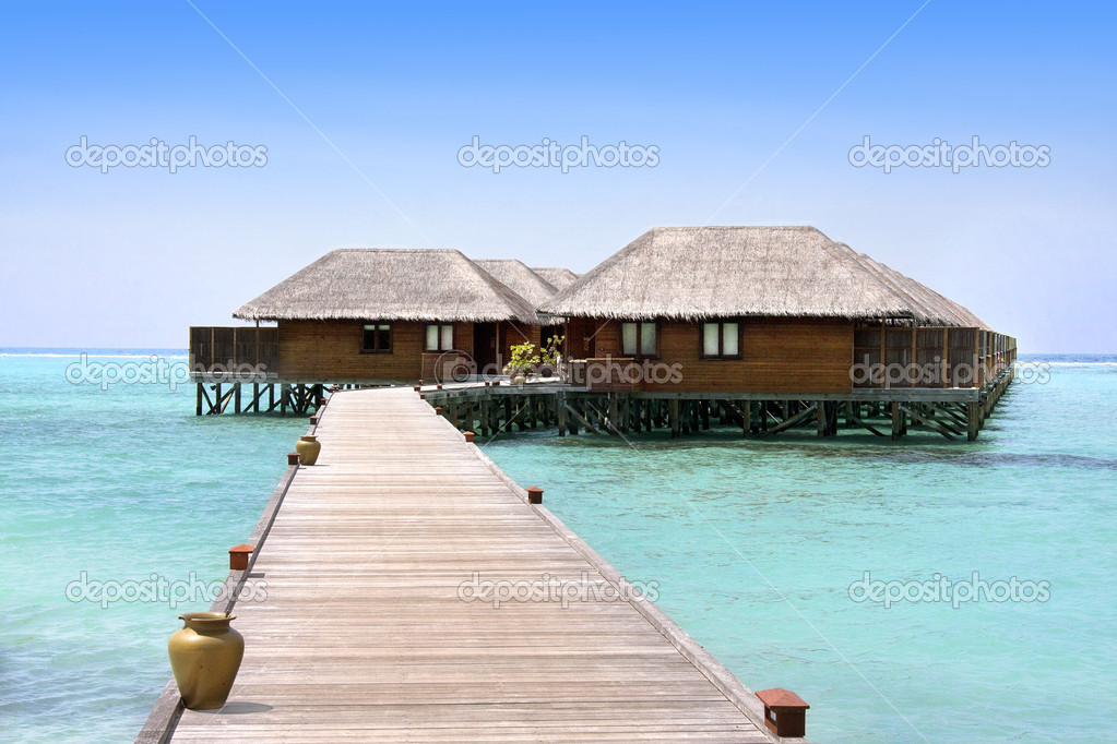 Meeru resort, Maldives, North Atoll  Stock Photo #11895251