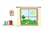 Window — Stock Vector