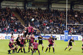 Rugby line-in — Stock Photo