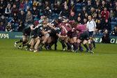 Rugby scrum — Zdjęcie stockowe