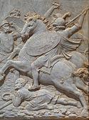 Alhambra battle scene2 — Stock Photo