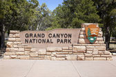 Grand Canyon Entrance — Stock Photo