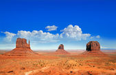 Monument Vally Buttes — Stock Photo