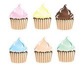 Cupcakes — Stock vektor