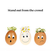 Stand out from the crowd — Stock Photo