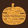 Stockvector : Happy Thanksgiving