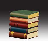 Staré knihy — Stock vektor