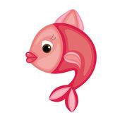 Bright cartoon fish — Cтоковый вектор