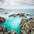 Rocky Atlantic ocean scenery — Stock Photo #10872399