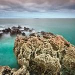 Rocky Atlantic ocean scenery — Stock Photo
