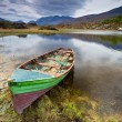 Stock Photo: Boat at Killarney lake in Co. Kerry