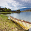 Boat at Killarney lake in Co. Kerry — Stock Photo #10874742