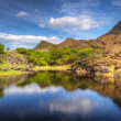 Stock Photo: Killarney scenery with mountains and lake