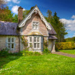 Fairy tale cottage house — Stockfoto
