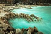 Paisaje rocoso de océano atlántico — Foto de Stock