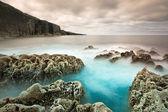 Skalní scenérie atlantský oceán — Stock fotografie