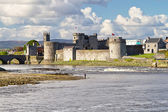 King John Castle in Limerick — Stock Photo