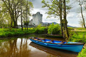 Boat at Ross Castle — Stock Photo