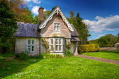 Fairy tale cottage house — Stock Photo