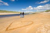 L'amour sur la plage — Photo