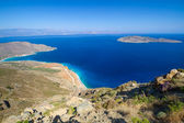 Blue lagoon on Crete — Stock Photo