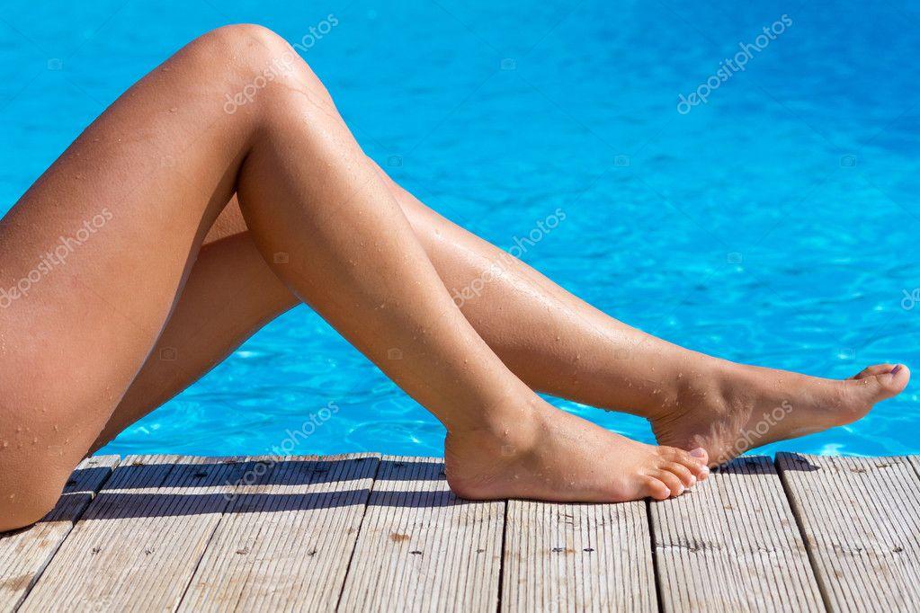 Фото ноги в бассейне 20 фотография