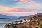 ミラベロ湾クレタ島の日の出 — ストック写真