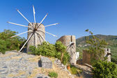 Ancient windmills of Lasithi Plateau — Stock Photo