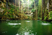 Ik-Kil Cenote near Chichen Itza — Stock Photo