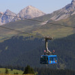 Cable car in Arosa — Foto de Stock