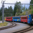Railway Chur - Arosa — Stock Photo