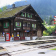 Stock Photo: station langwies
