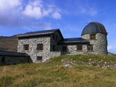 Former observatory Arosa — Stock Photo