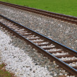 Stock Photo: Train tracks