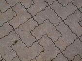 Pavimentazione in calcestruzzo — Foto Stock