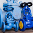 Stock Photo: Pressure valves