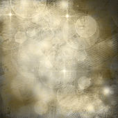Beautiful abstract background of holiday lights and posters — Stock Photo