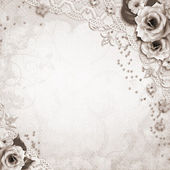 Elegance wedding background — Stock Photo