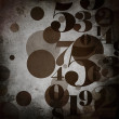 Background in grunge style with numbers — Stock Photo #11404148