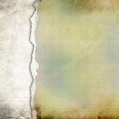 古い破れた紙の背景. — ストック写真