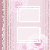 Vintage romantic background — Foto de Stock