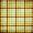 Textile plaid background in green, blue, brown — Stock Photo