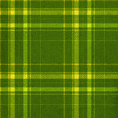 Green and yellow plaid pattern — Stock Photo